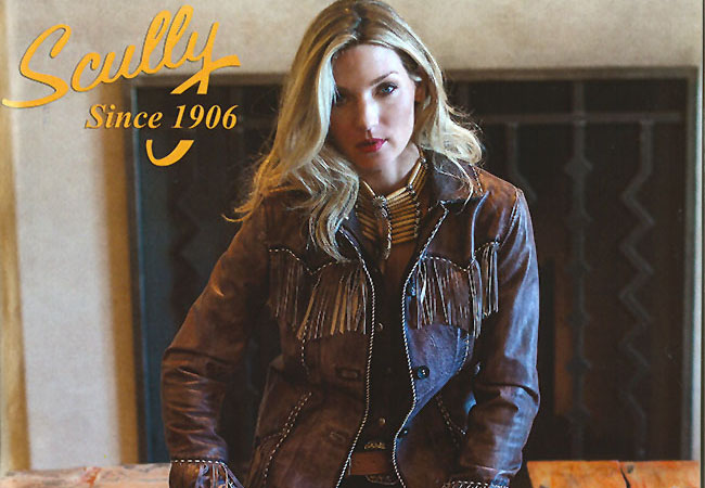 Scully Fringe Jacket As Seen In Cowgirl Magazine