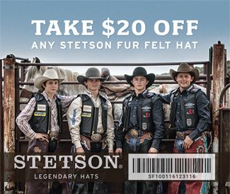Take $20 Off Any Stetson Fur Felt Hat