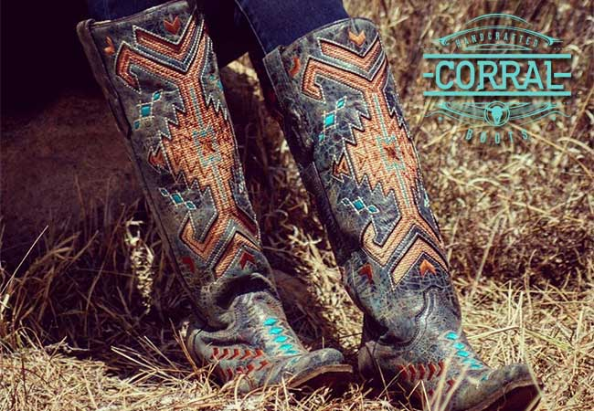 Corral Boots - Handcrafted Men's and Women's Western Boots and Accessories