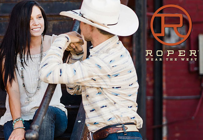 Roper Brand Boots, Apparel and Accessories