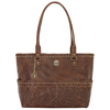 American West Carry On Tote - Chestnut Brown