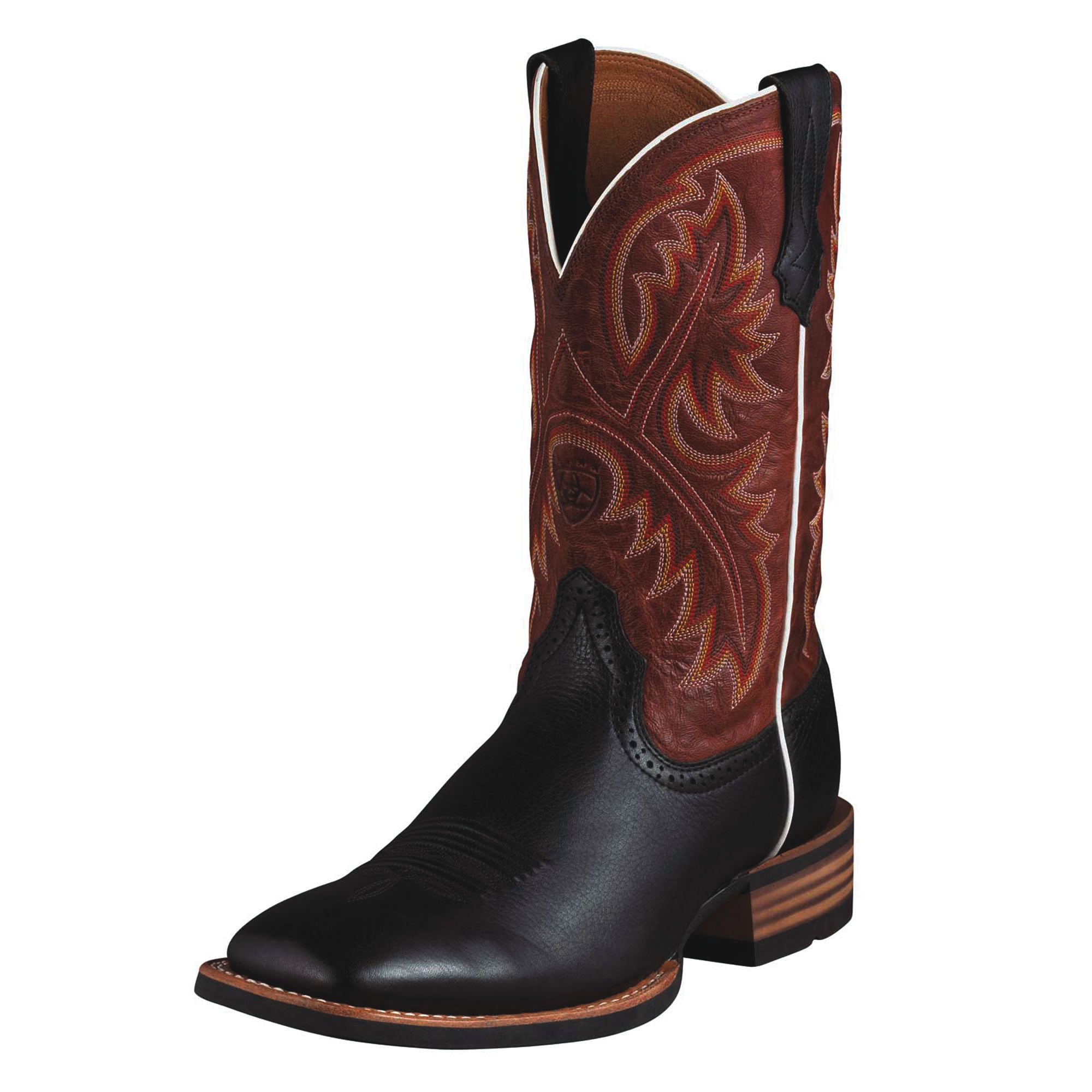 pungo ridge ariat quickdraw boots black deertan washed