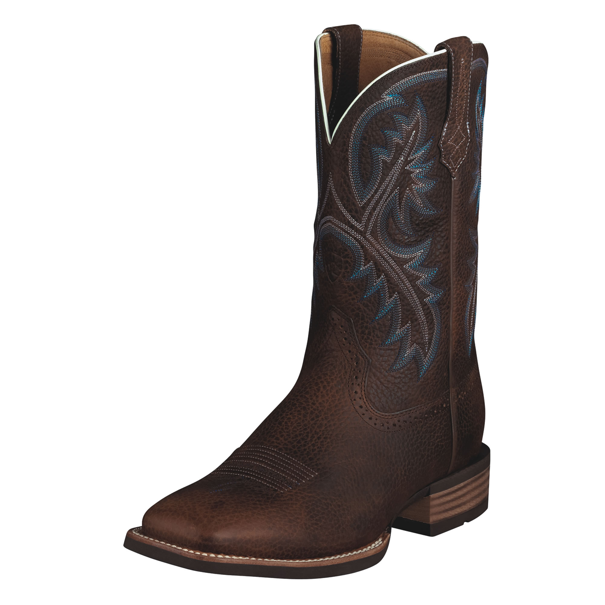 pungo ridge ariat quickdraw boots brown rowdy