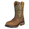 Ariat Men's Workhog Pull On CT Work Boots