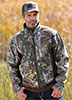 Cinch Men's Camo Bonded Sherpa Jacket