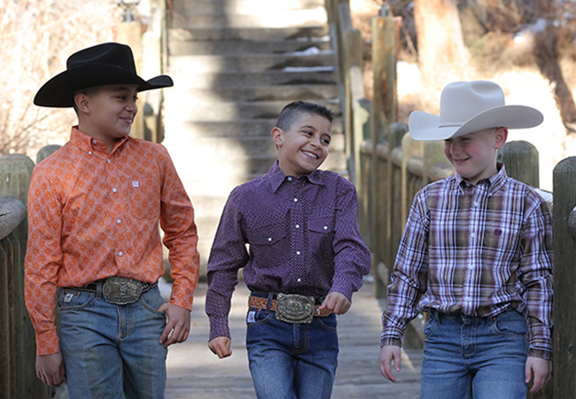 Cinch Kids Shirts and Jeans