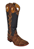 Ferrini� Men's Rodeo Cowboy Buckaroo Boots w/Tall Shaft - Tan/Navy