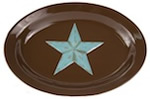 Rustic Barn Star Serving Platter