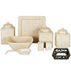 Savannah Stoneware Serving Pieces - Cream