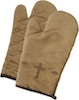 Embroidered Cross Oven Mitt