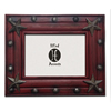 Rustic Distressed Wood Frame - Red