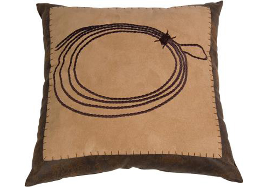 Pungo Ridge - Embroidered Rope Pillow, Decorative Pillows & Shams, WS3188P1