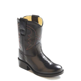 Old West� Toddler's Western Boots - Black