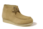 Roper Men's Performance Gum Sole Chukka - Light Tan Suede