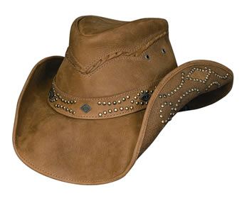 Bullhide� Hidden Pleasures Leather Hat