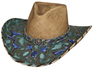 Bullhide Wind of Change Straw Hat