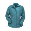 Outback Ladies Harper Packable Jacket - Dusty Blue