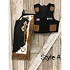 Junior Pro Rodeo Chaps / Vest Combo