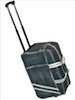 Scully Antique Calf Leather Wheeled Travel Bag