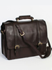 Hidesign Collection Handstained Calf Leather Lap Top Brief