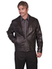 Scully Men's Lamb Zip Front Jacket - Black