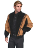 Scully Men's Boar Suede Rodeo Jacket - Black/Cafe Brown