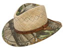 Stetson Deer Run RealTree Camo Straw Hat