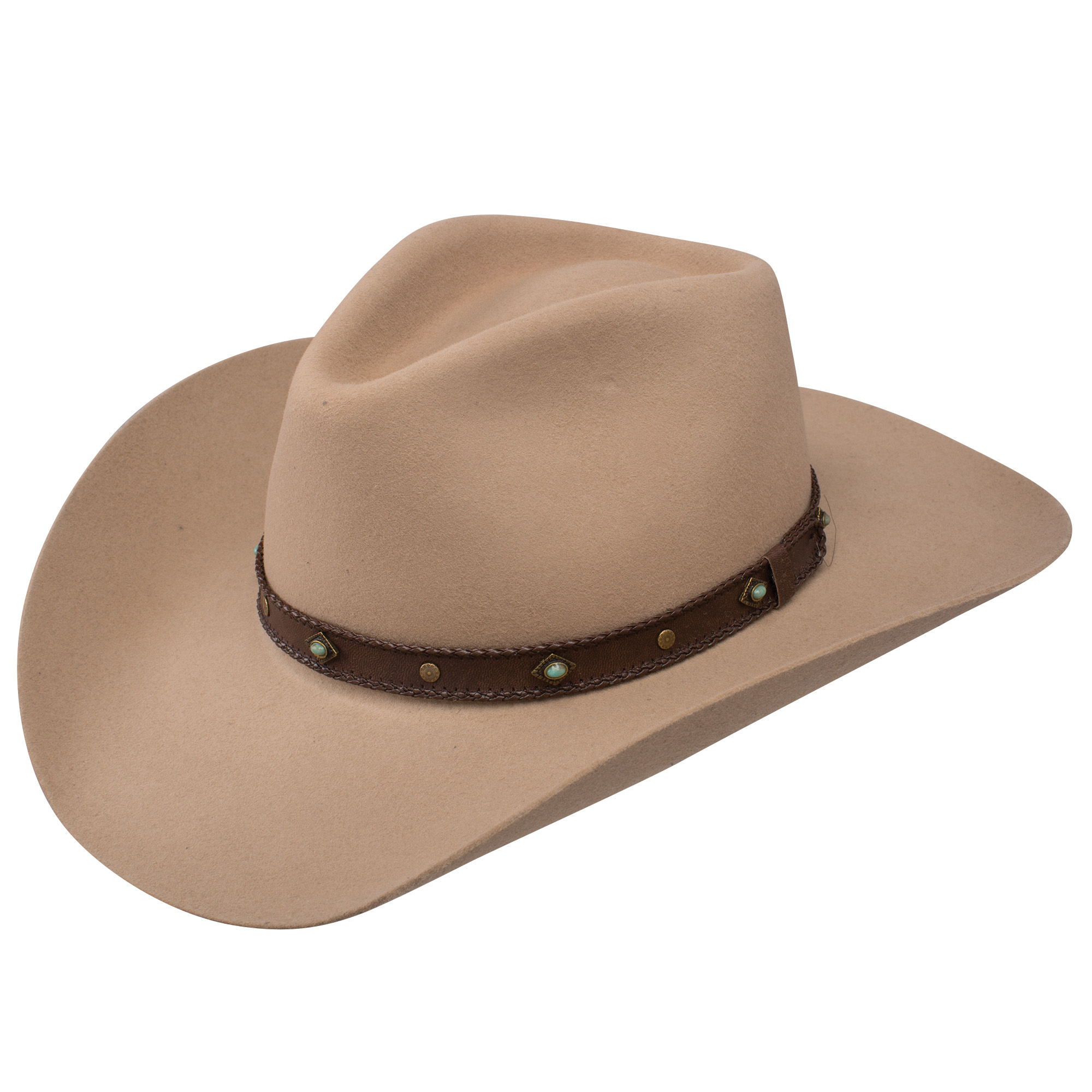 Pungo Ridge - Stetson 41 Sunset Ride 4X Buffalo Fur Hat - Tan ... 3380e785717