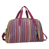 Catchfly Venus Mexican Blanket Overnight Bag - Pink