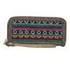Catchfly Hillary Mexican Blanket Wallet - Multi