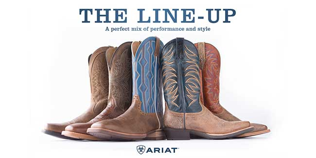 The Line-up - A Perfect Mix of Performance and Style by Ariat