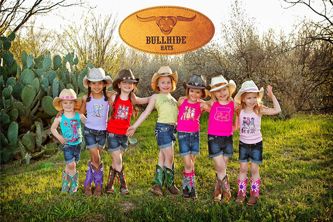 Kid's Bullhide Straw Hats