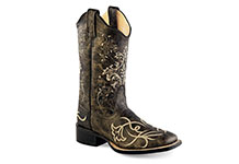 Old West Women's Square Toe Boots