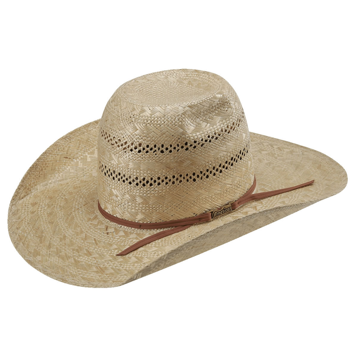 8f129893dd7 American Hat Co Sisal Vented Straw Hat. Tap to expand