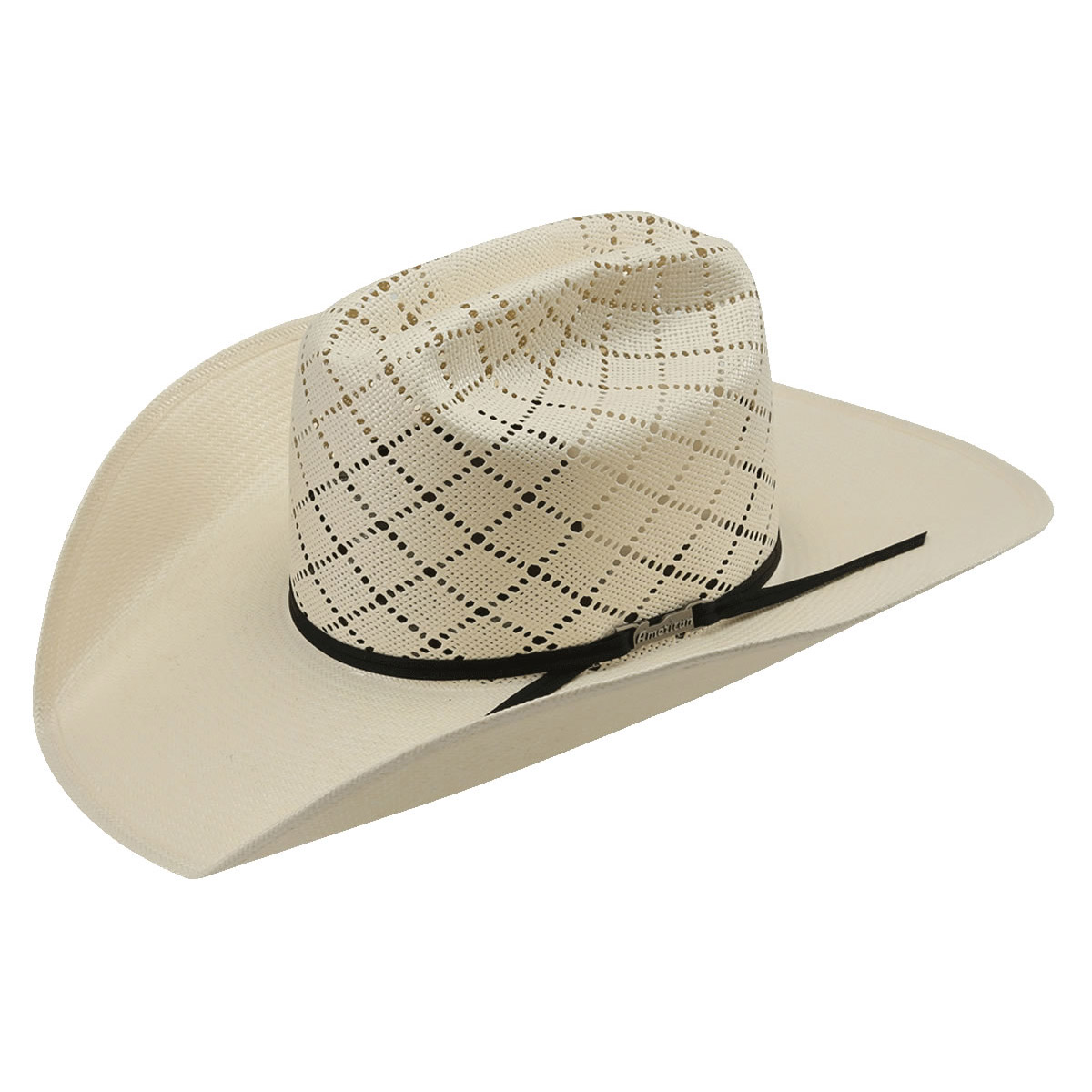 American Hat Co 20☆ Patchwork Crossbred Straw Hat - White. Tap to expand 1bfb5d1eef0a