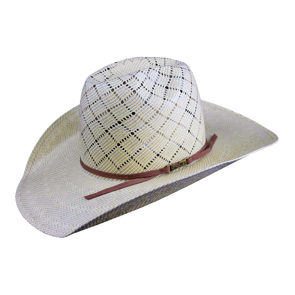 ae8bde526c4761 Pungo Ridge - American Hat Co 20☆ 5050 Patchwork Crossbred Straw ...