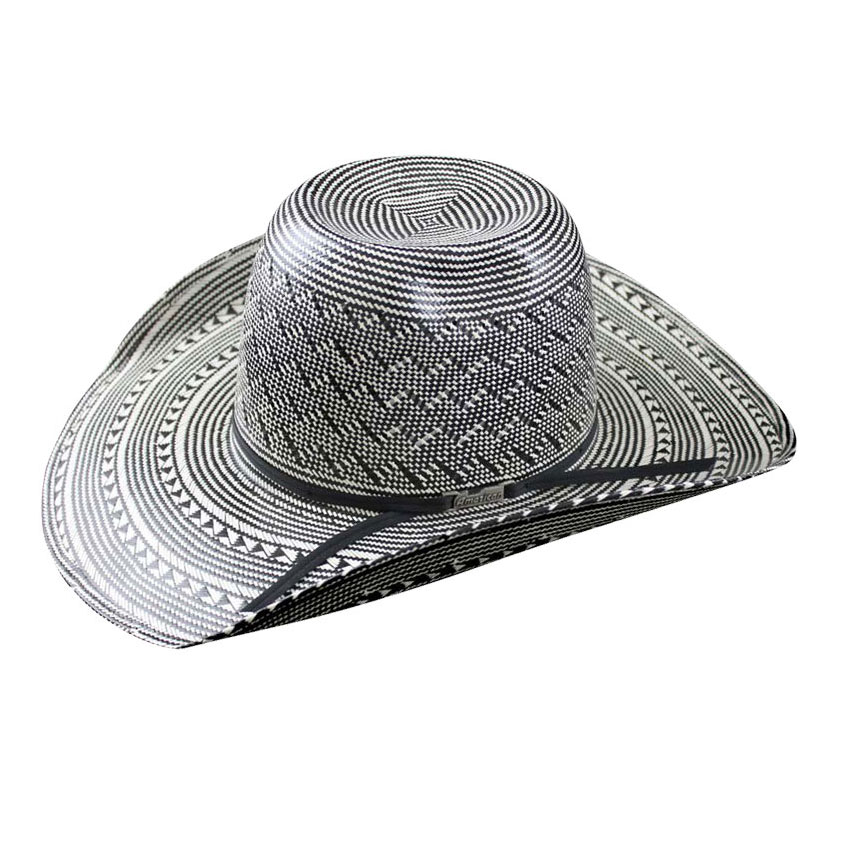 Pungo Ridge - American Hat Co 20☆ Fancy Weave   Vent Straw Hat ... 80fafc5c8006
