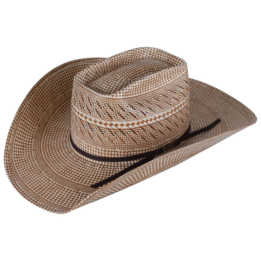 Pungo Ridge - American Hat Tuf Cooper 20☆ Two-Tone Vented Straw Hat ... 7209ee601367