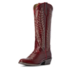 Ariat Women's Legacy Two Step Boots - Sangria Red