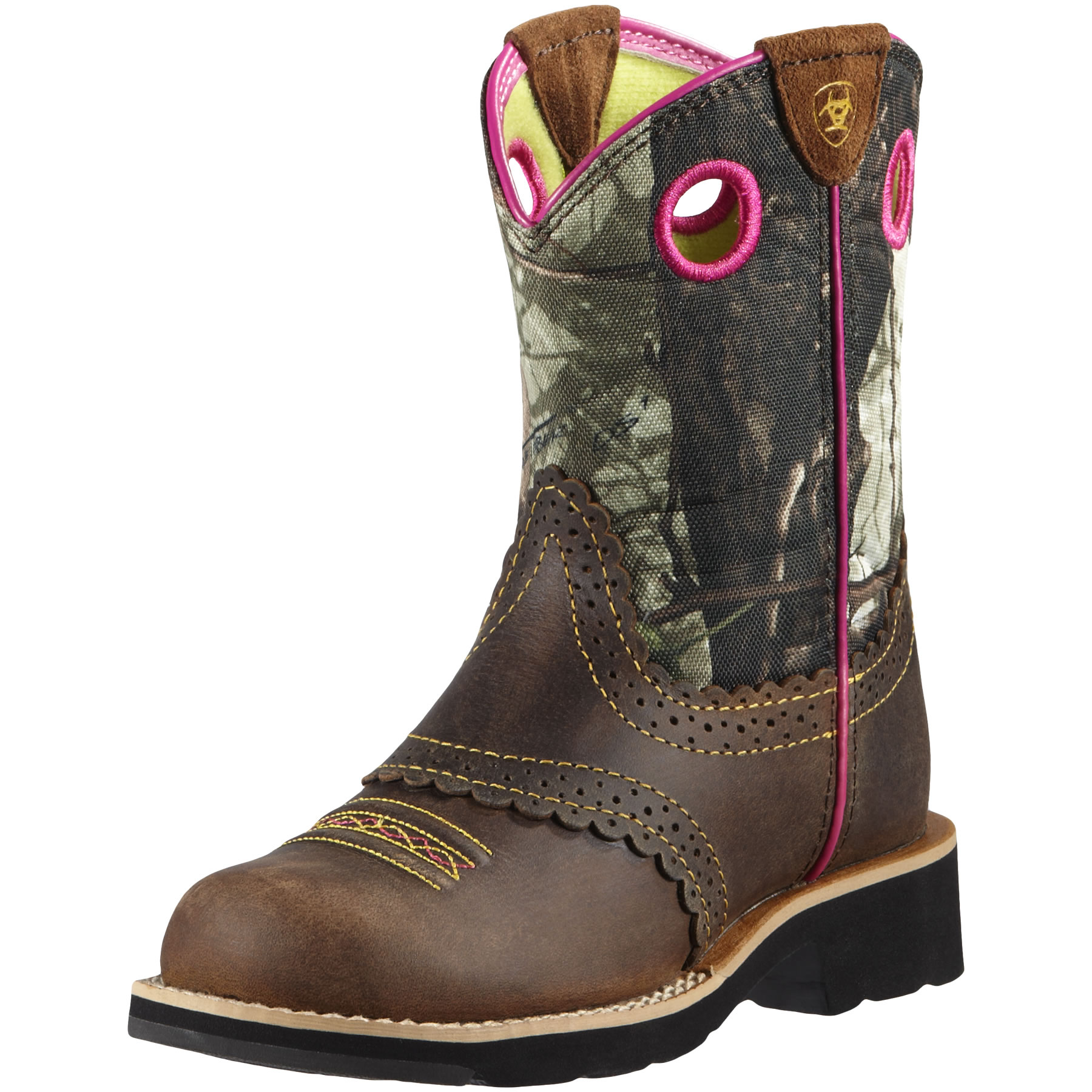 Pungo Ridge - Ariat Fatbaby Cowgirl - Rough Brown/Camo, Kid's ...