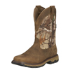 Ariat Men's Conquest Pull-On Waterproof Hunting Boots - Real Tree