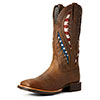 Ariat Men's Quickdraw VentTEK Boots - Distressed Brown