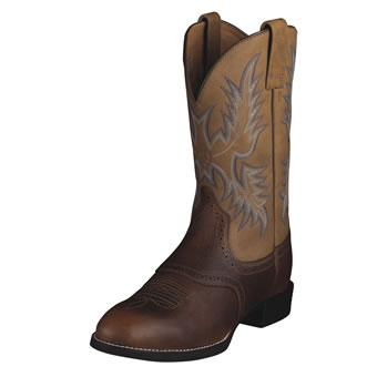 Ariat Heritage Stockman Boots - Barrel Brown