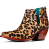 Ariat Women's Dixon Leopard Hair On Shorty Boot