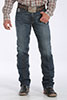 Cinch Men's Silver Label Dark Stonewash Jeans