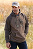 Cinch Men's Pullover Hoodie - Brown