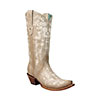 Corral Women's Bone Embroidery & Swarovsky Crystal Boots