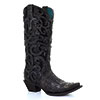 Corral Women's Black Boots w/Overlay & Full Studs