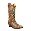 Corral Women's Zambia Embroidered Boots - Kansas Tan