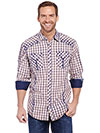 Cowboy Up Men's Vintage L/S Woven Shirt